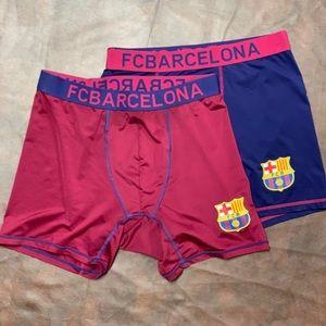 FC Barcelona Compression Shorts
